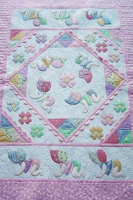 Sunbonnet Babies Quilt Patterns Applique Quilts Cute Quilts