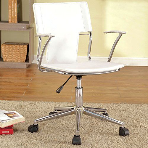 Classic Adjustable Home Office Swivel Desk Chair, Chrome