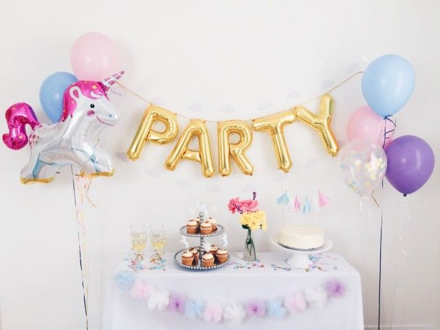 d corer un go ter d 39 anniversaire unicorn party birthdays and unicorn birthday parties. Black Bedroom Furniture Sets. Home Design Ideas