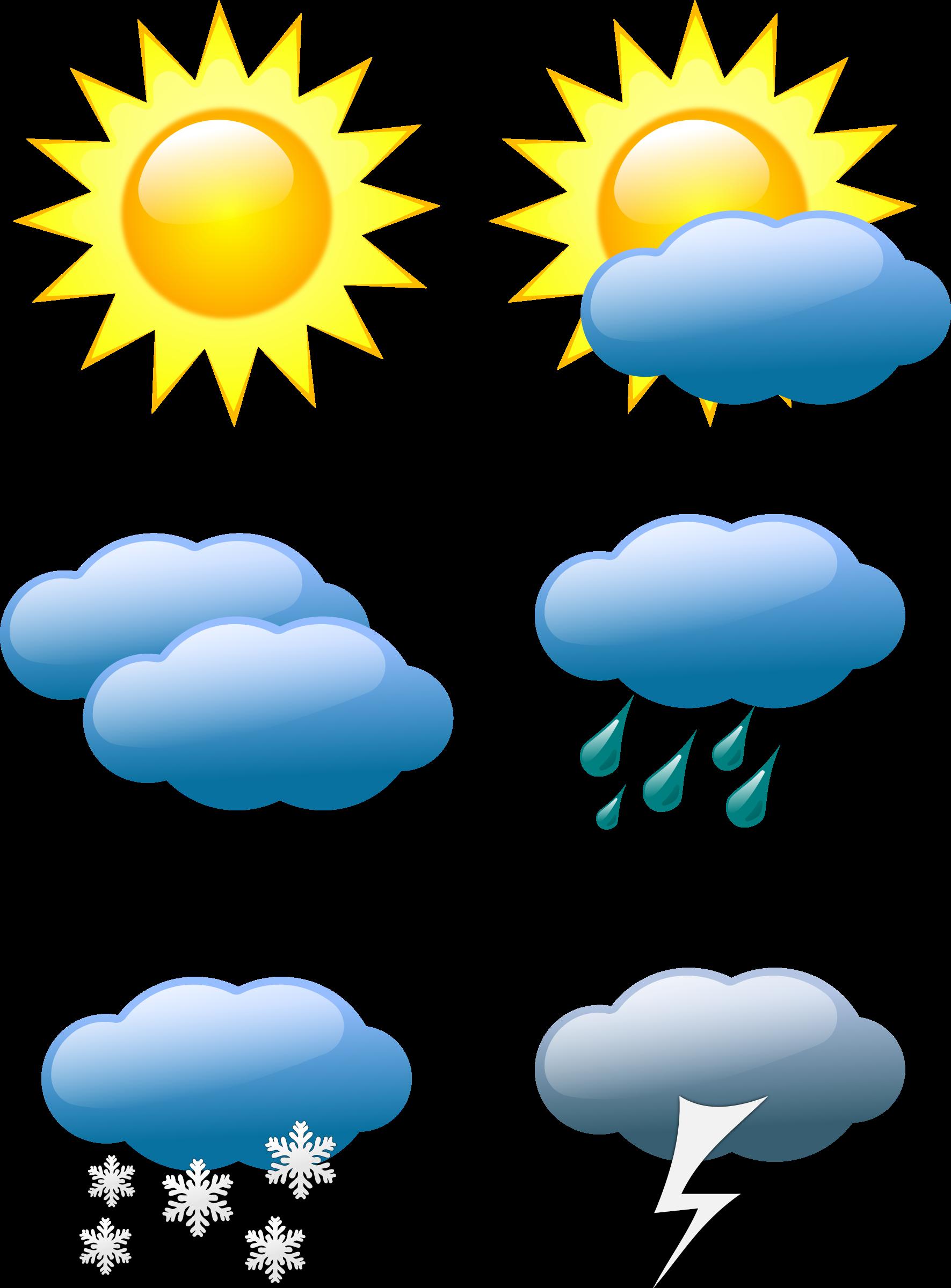 Weather Symbols By Sivvus Weather Symbols On