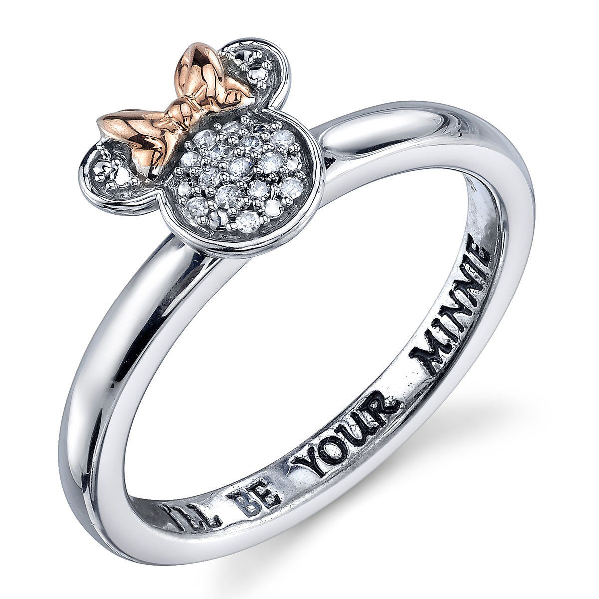 0d8c0c4d1d778 Product Image of Minnie Mouse Diamond Ring for Women   1