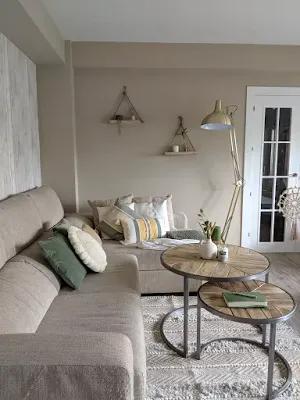 تصميمات جديدة جميلة 2021 درجات البيج والرمادى In 2021 Living Room Grey Furniture Room