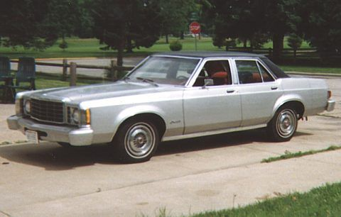 1977 Ford Granada My First Car But In Baby Blue Ford Granada