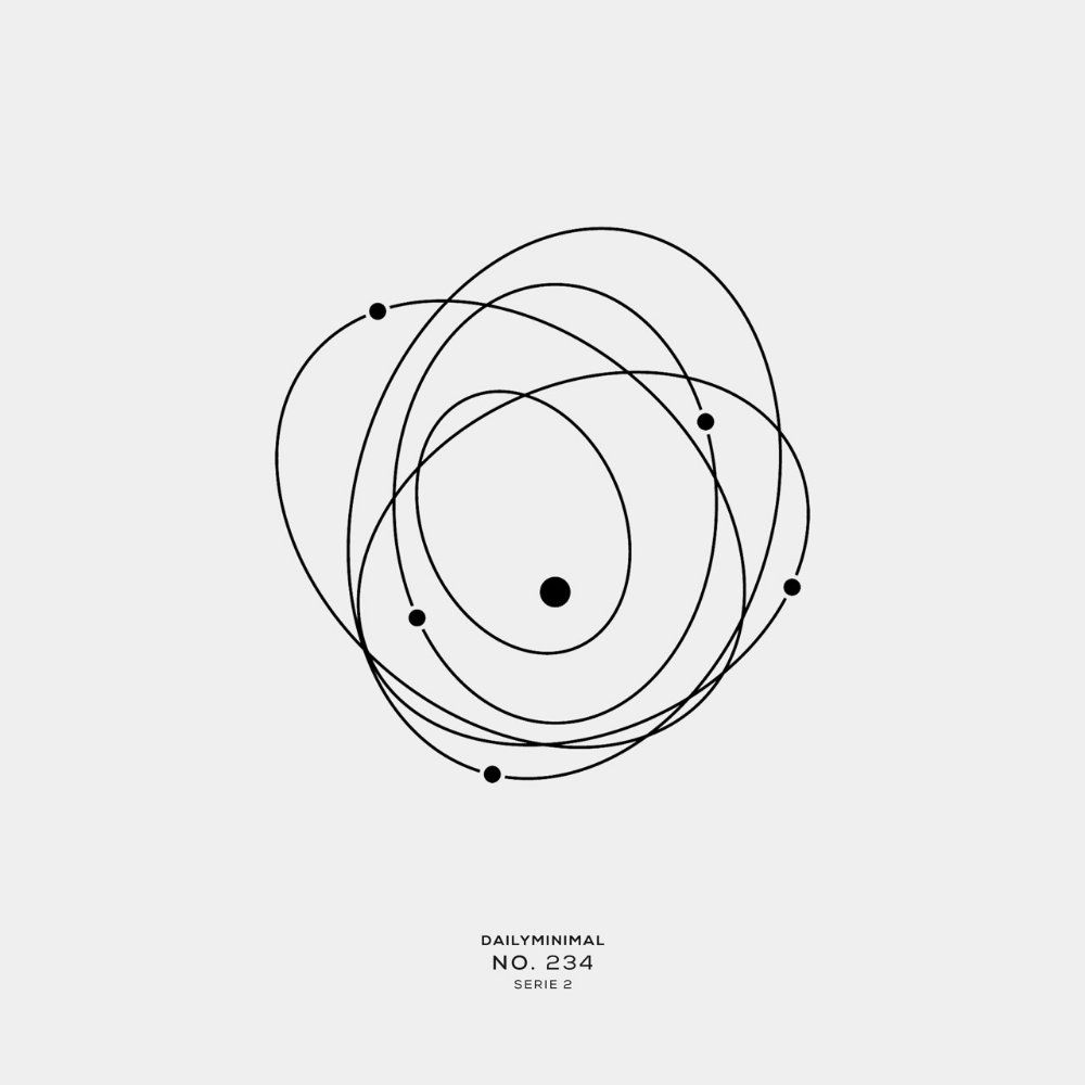 DAILY MINIMAL  No 234 A new geometric design every day  DAILY MINIMAL  No 234 A new geometric design every day