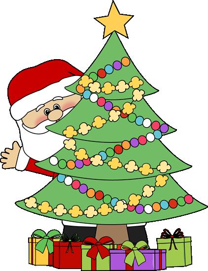 christmas clip art santa