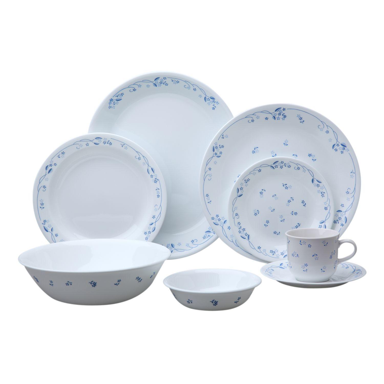Corelle® Livingware™ Provincial Blue 76-Pc Dinnerware Set - Shop ...