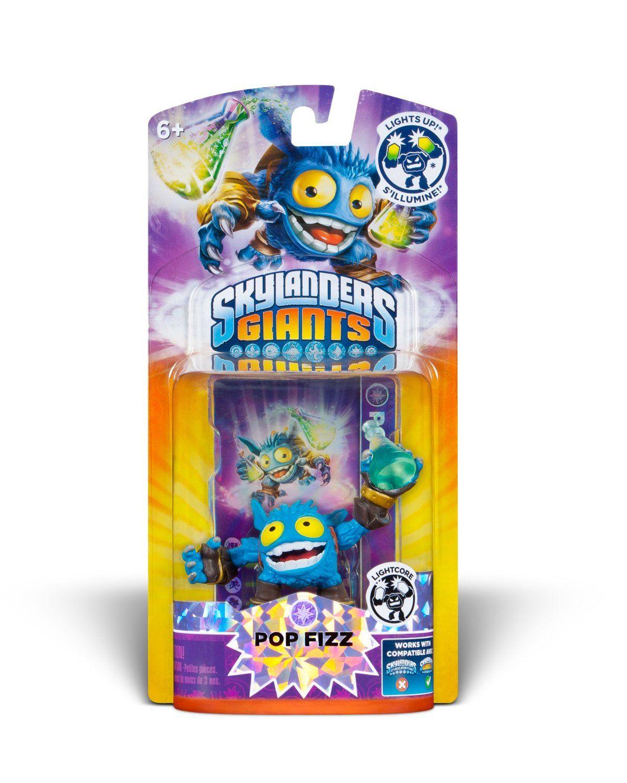 Skylanders Giants Lightcore Single Character Pop Fizz Skylanders Toysrus Toys Fizz