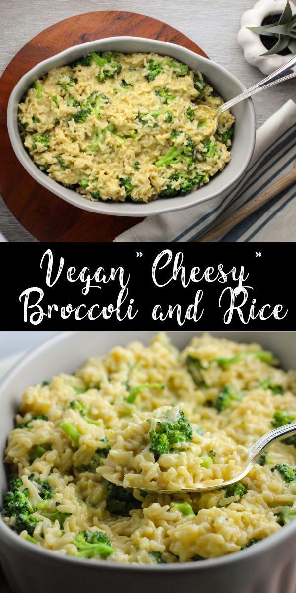 Vegan 'Cheesy' Broccoli and Rice