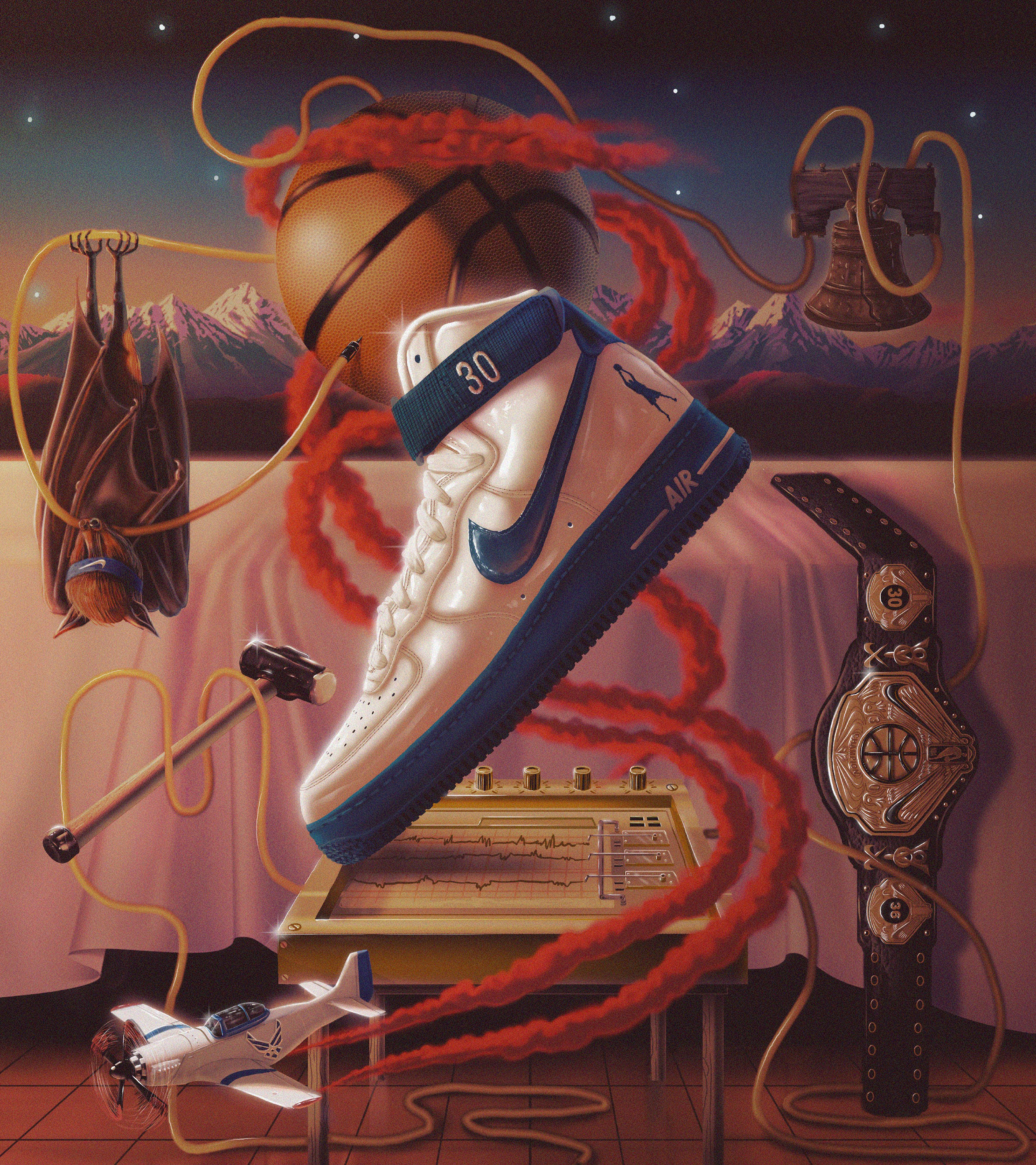 """Check out this Behance project """"Nike Art Of A Champion"""