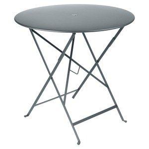 Fermob Bistro Table Bistro Tp Gris Fumee 77cm Table Pliante Table Ronde Pliante Table De Jardin Pliable