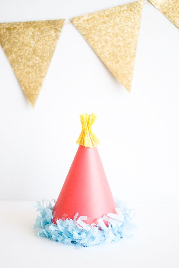Carnival DIY Party Hat Template printable Confetti Sunshine - party hat template