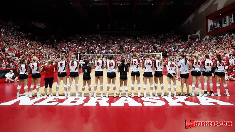 Husker Volleyball Nebraska Huskers Women Volleyball Husker