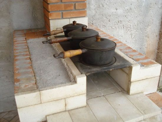 .A beleza das panelas de ferro