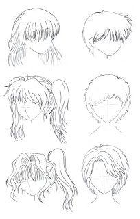 Pasos Para Crear Un Dibujo Anime Drawing For Beginners How To Draw Hair Manga Drawing