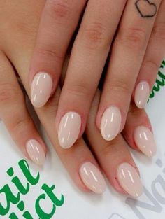 blush neutral nails  blush nails rounded acrylic nails