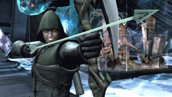 Injustice Skin Green Arrow Injustice Arrow Black Canary Batman Vs