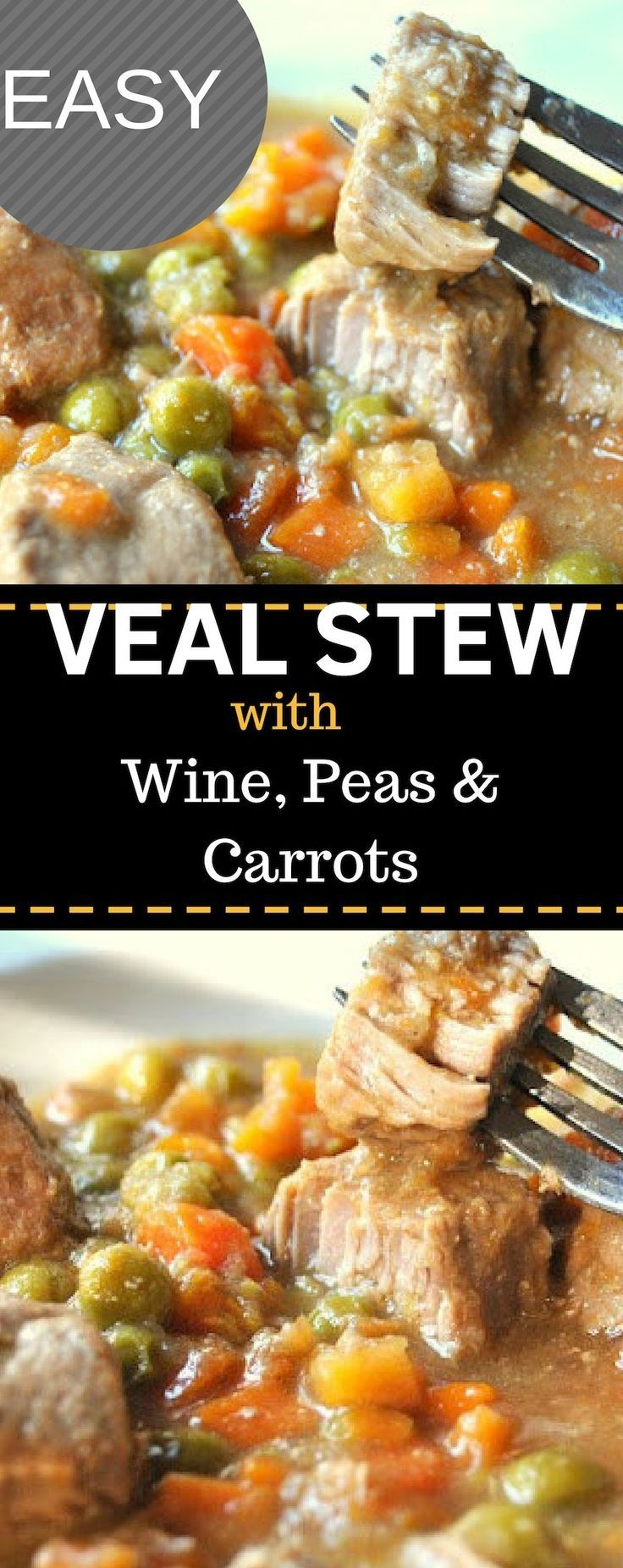 Veal Recipes Easy In 2020 Veal Recipes Easy Meat Recipes Veal Stew