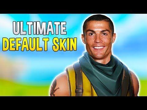 Ronaldo The Ultimate Fortnite Default Skin Noob Fortnite