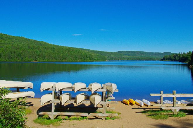 A Paddling Trip In La Mauricie National Park Quebec