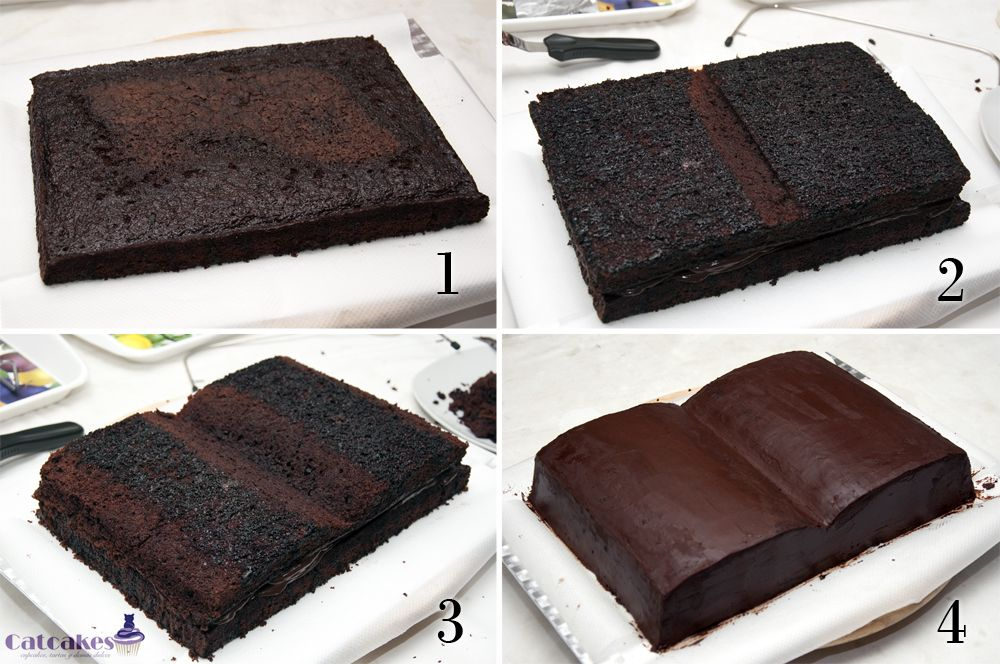 How To Make Bible Shaped Cake