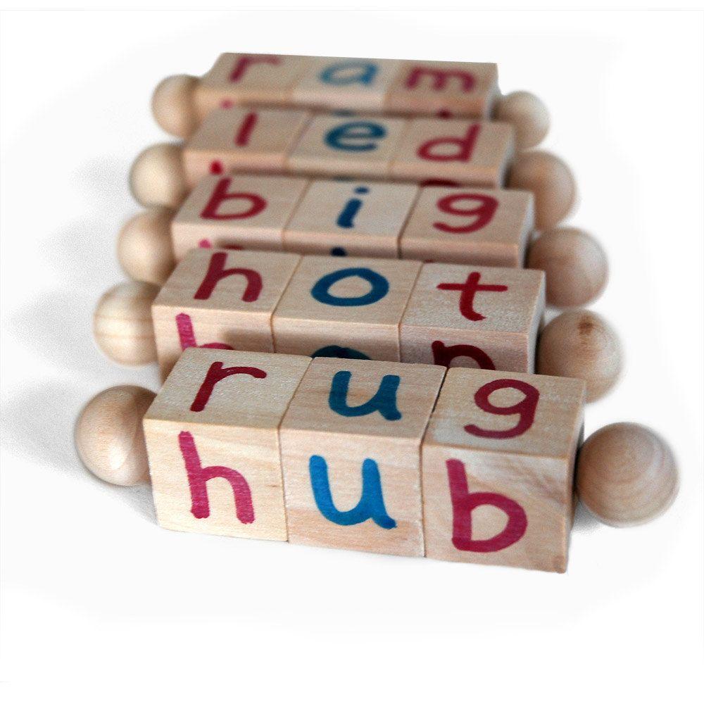 The Original Montessori Phonetic Reading Blocks an Eco ...