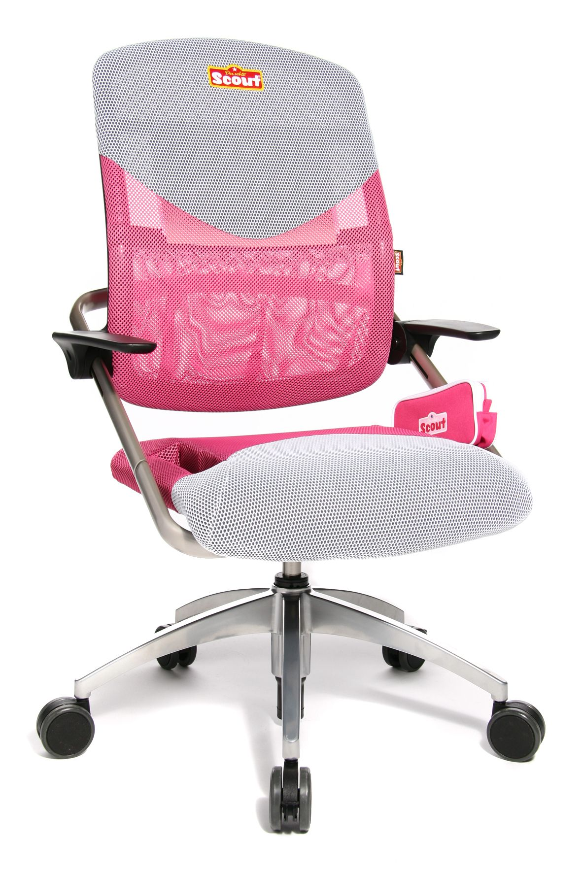 Scout 3d Ergonomic Chair In Pink In 2020 Chair Best Desk Desk