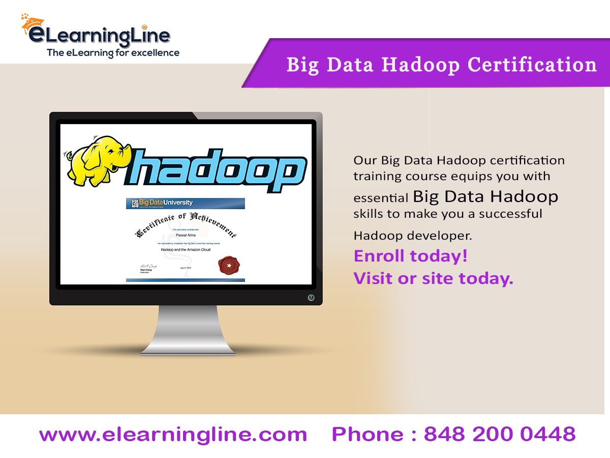 Our Big Data Hadoop Certification Training Course Equips You With