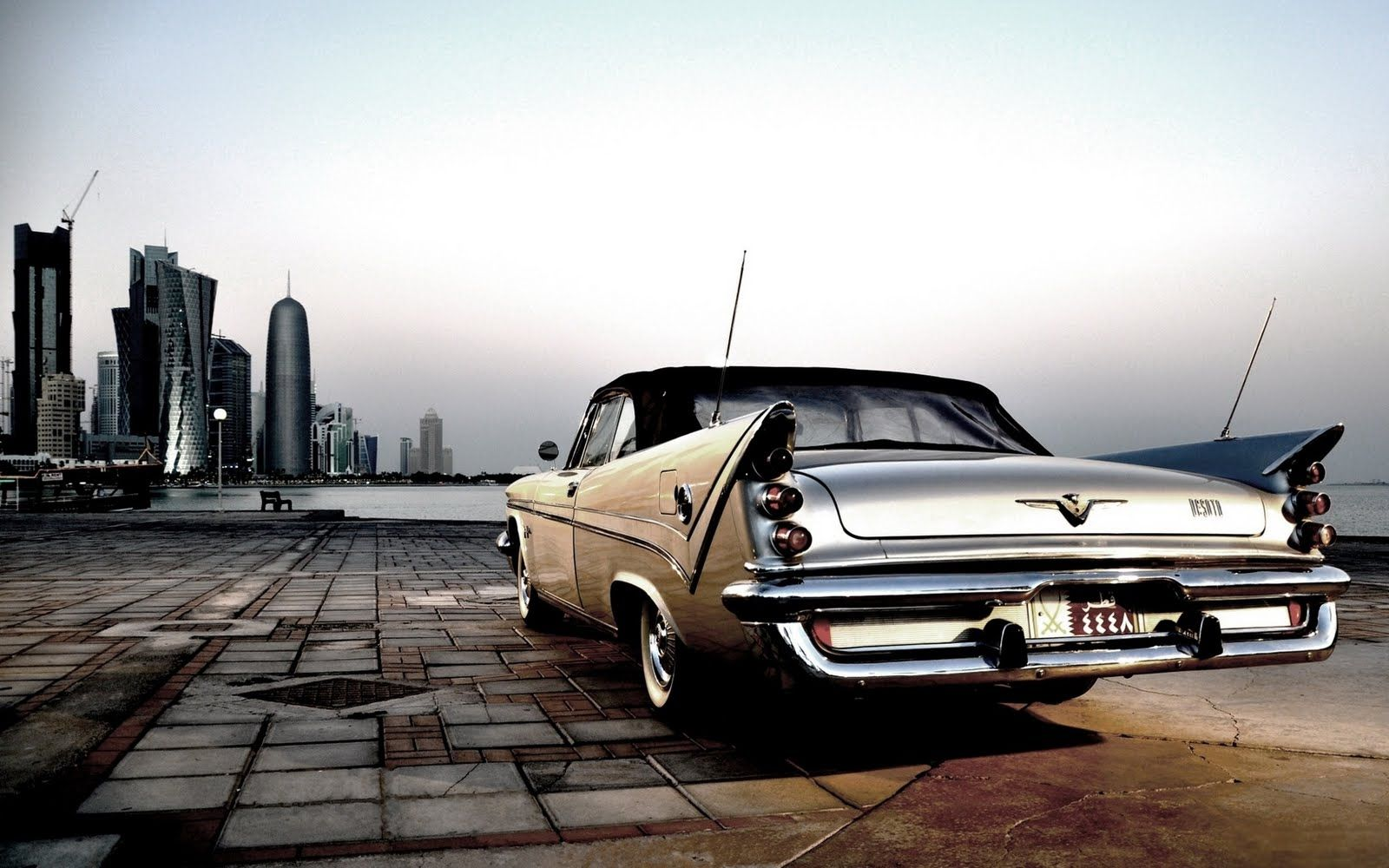 Chrysler Desoto City Old Car Photo Hd Wallpaper Cool Old Cars Car Photos Hd Old Classic Cars
