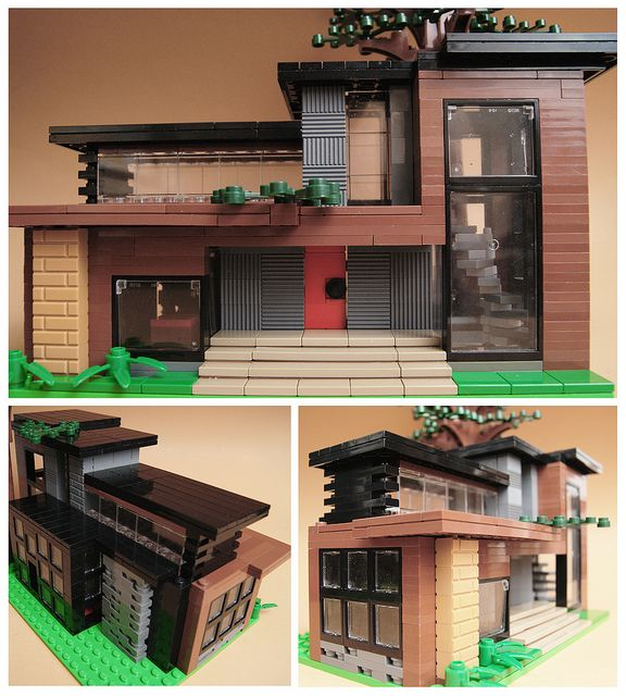 Mini modern residence 3 lachie 39 s lego pinterest for Pool design by laly