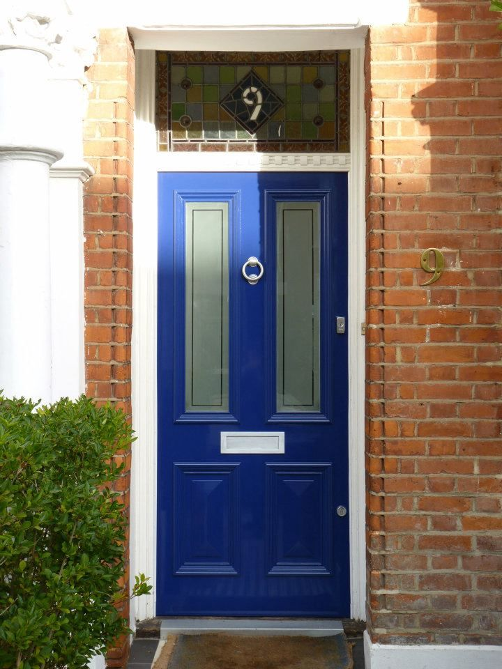 The London Door Company \'Midnight Blue\' paint colour - Gloss ...