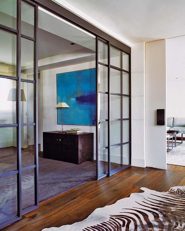 Pin de diana en salones modernos puertas interiores - Puertas de cristal para interiores ...