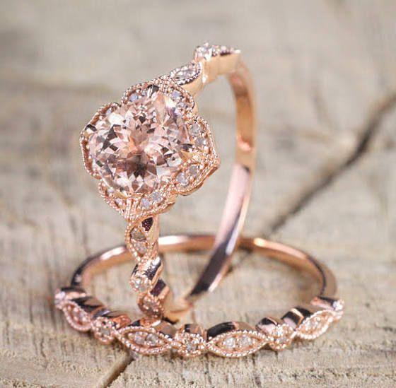 rose gold engagement rings under 500 Wedding Pinterest Rose