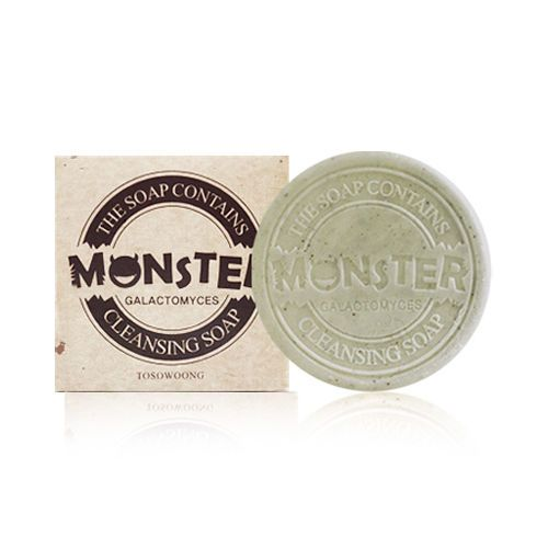 [TOSOWOONG] Monster Cleansing Soap - 100g