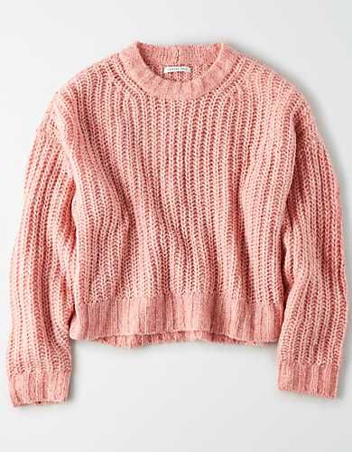 Crew Neck Sweaters for Women   American Eagle