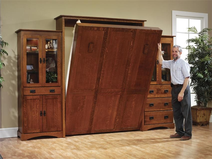 Best Amish Old Mission Murphy Bed Murphy Bed Plans Modern 640 x 480