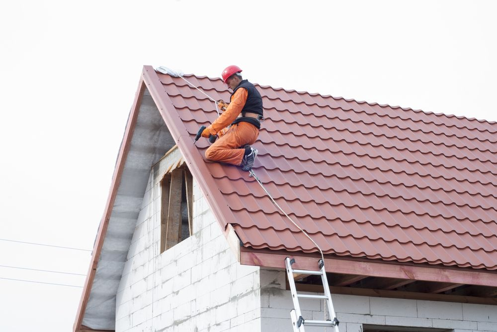 Regular roof maintenance is the key to keeping the roof in