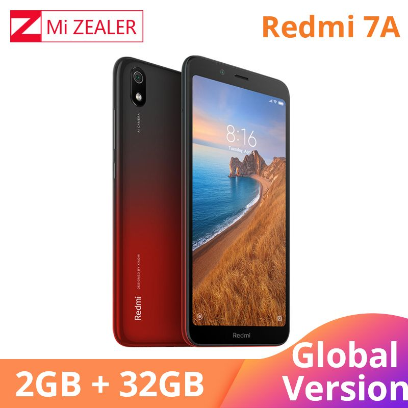Best Price Of Original Global Version Redmi 7a 2gb 32gb Mobile Phone Snapdargon 439 Octa Core 5 45 Mobile Phone 32gb Phone