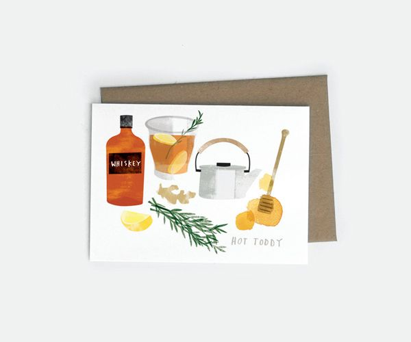 Red Cruiser card - Rosemary Ginger Hot Toddy