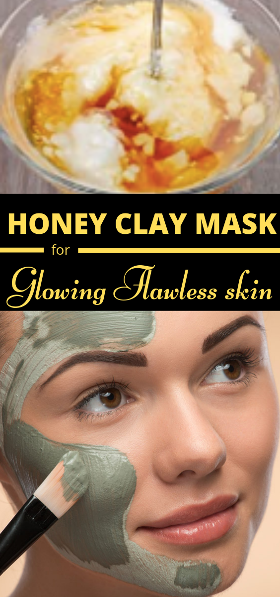 Diy Honey Clay Face Mask To Get Fair And Glowing Skin Skin Skincare Facemask Face Glow Honey Clay Manuka Honey Face Mask Honey Face Mask Homemade Face
