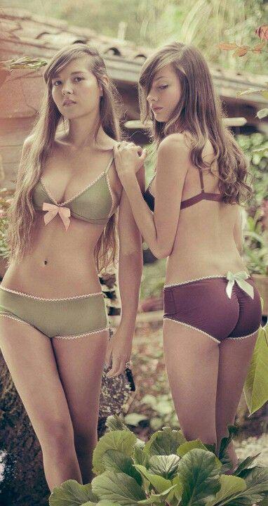 Fantasy Teen girls in bra and underwear pic
