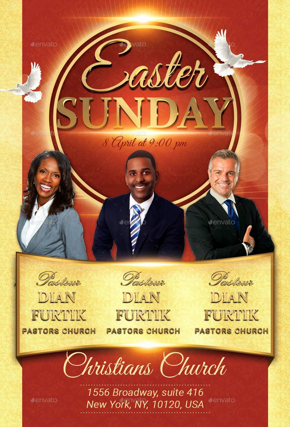 25 Church Flyers Templates Free Download In 2020 Flyer Template