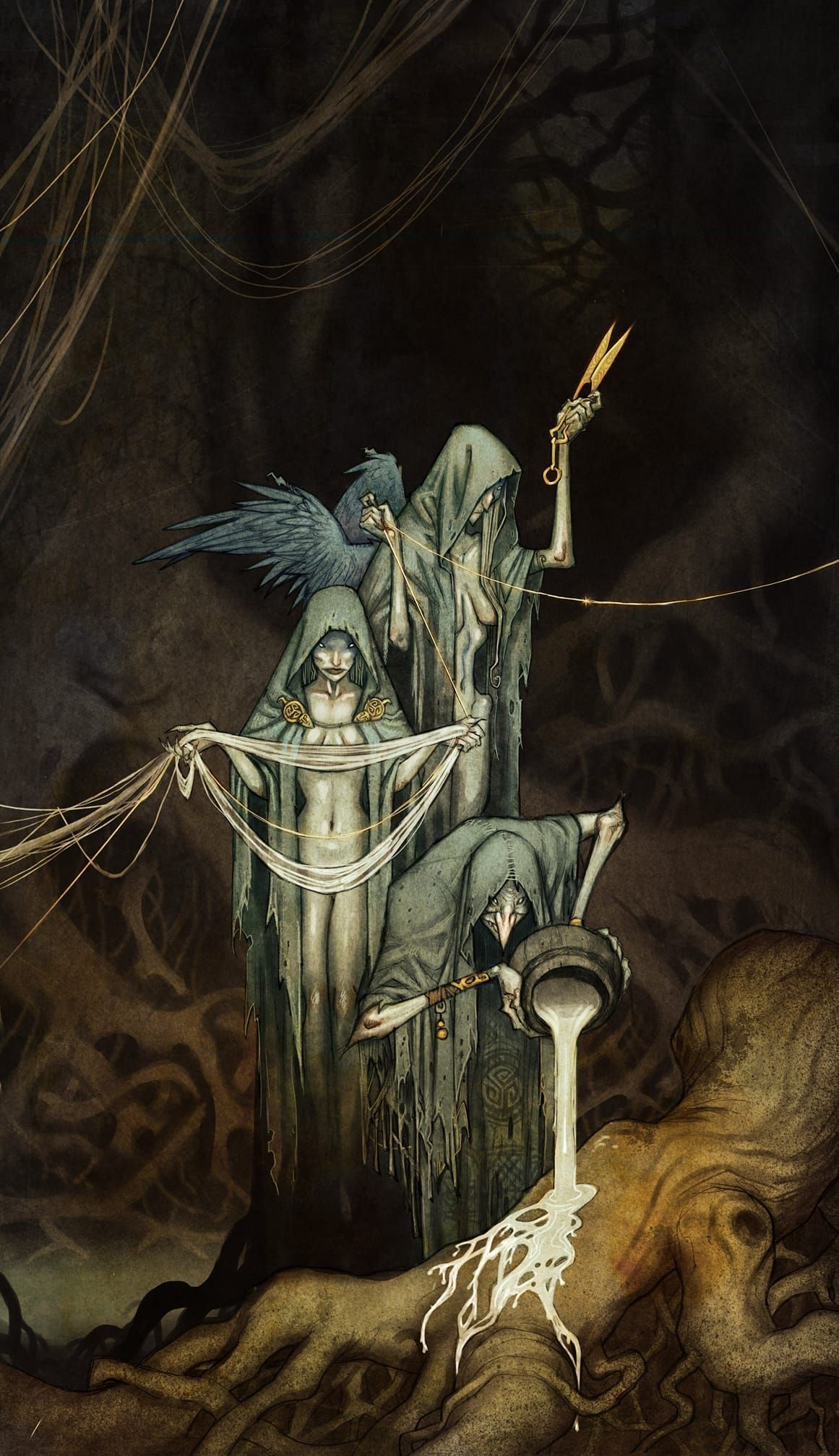 The Norns In Norse Mythology Are Female Beings Who Rule