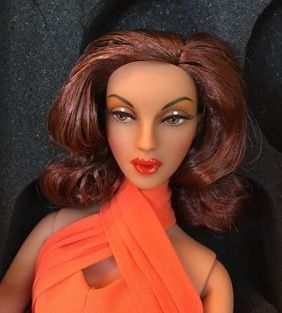 The Studio Commissary: Orange Violet and Zita Came today! YAY!>>> (4 Quick Pics) >>>  -  Posted by Jinky [Email User] on July 29, 2016, 9:48 pm.  Just had to share some Quick pictures!  I'm so thrilled! Here's Violet! She arrived without her wig, but of course George is sending me one right away! YAY! Thanks George! I put this one on as it was sitting nearby... I kind of like it on her!  Love her coloring! I'm selling her outfit if anyone is interested.