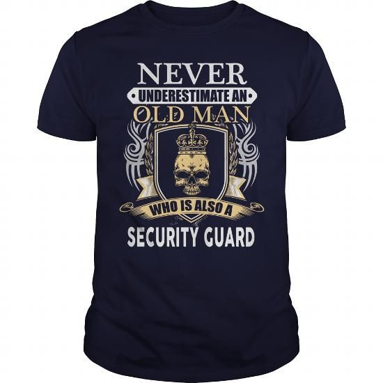 I Love SECURITY GUARD T shirt