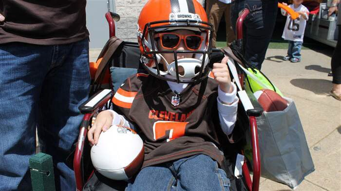 9-Year-Old With Rare Disorder Gets Dream Day With Favorite Team