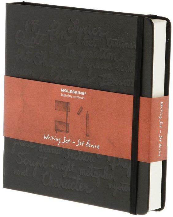 Moleskine Writing Set Gift Box - Black: