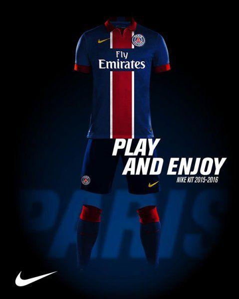 Nuevas camisetas Paris Saint Germain baratas 2015 2016 - Comprar equipaciones  de futbol baratas 2016 fe224e62b59