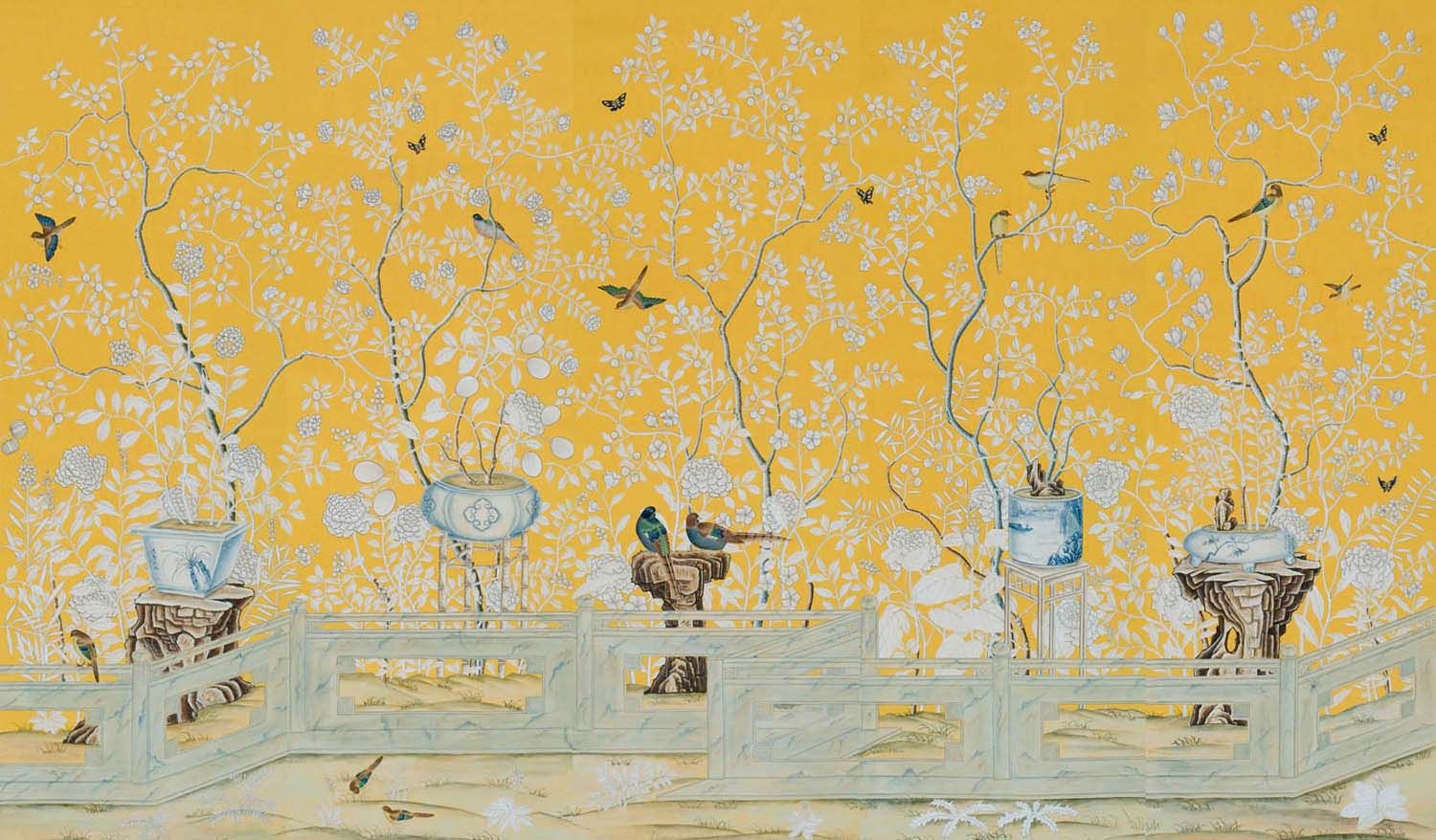 de Gournay wallpaper Painting wallpaper, Chinoiserie