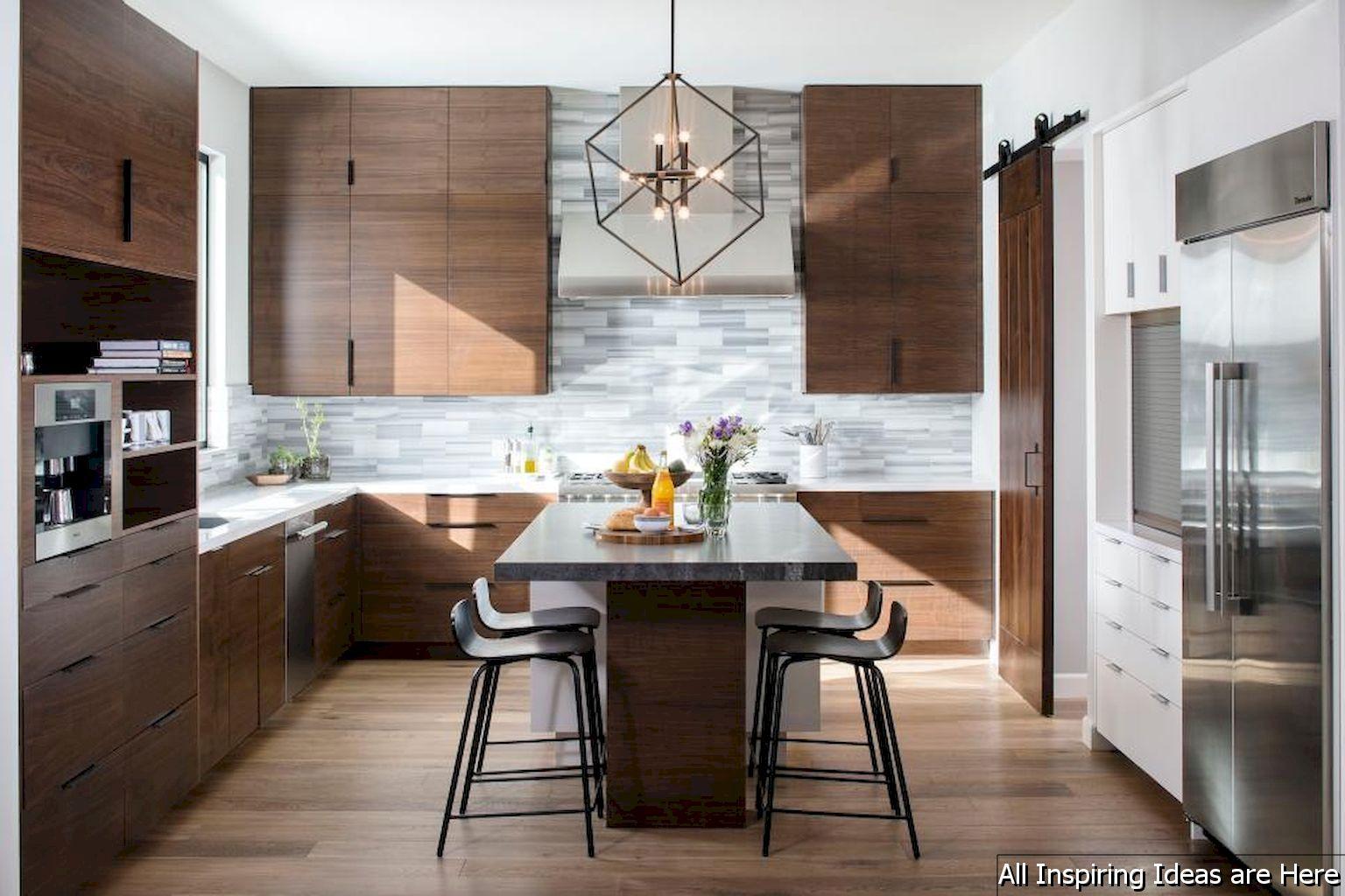 Gorgeous 32 Gorgeous Midcentury Modern Kitchen Decorating