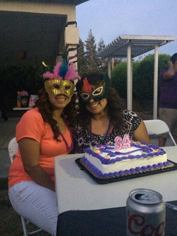 my sister's birthday party